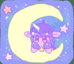 Pastel Unicorn. sticker #12518509