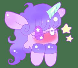 Pastel Unicorn. sticker #12518512