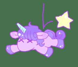 Pastel Unicorn. sticker #12518513