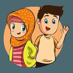 Hijab Couple