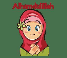 Hijab Couple sticker #12519440