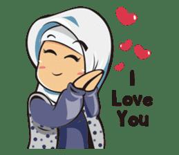 Hijab Couple sticker #12519443