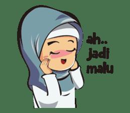 Hijab Couple sticker #12519447