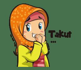 Hijab Couple sticker #12519452