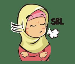 Hijab Couple sticker #12519462