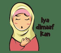 Hijab Couple sticker #12519465