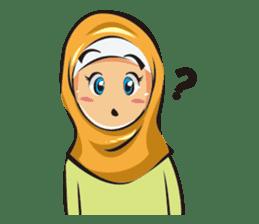 Hijab Couple sticker #12519471