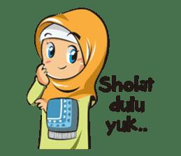 Hijab Couple sticker #12519473