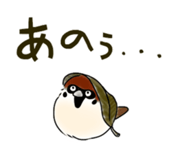 Daily life of a Sparrow sticker #12520860