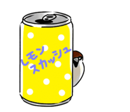 Daily life of a Sparrow sticker #12520862