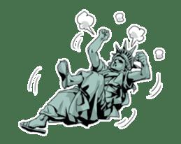 Unrestrained Goddess sticker #12535237