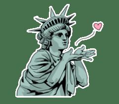 Unrestrained Goddess sticker #12535238