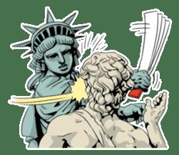 Unrestrained Goddess sticker #12535240