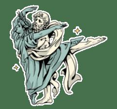 Unrestrained Goddess sticker #12535241