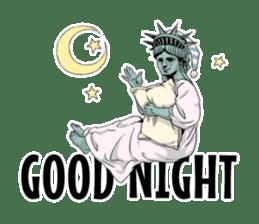 Unrestrained Goddess sticker #12535243