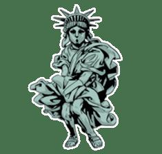 Unrestrained Goddess sticker #12535246