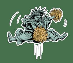 Unrestrained Goddess sticker #12535248