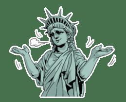Unrestrained Goddess sticker #12535249