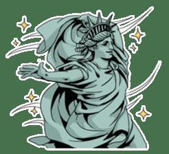 Unrestrained Goddess sticker #12535250
