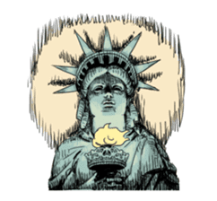 Unrestrained Goddess sticker #12535256