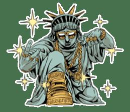 Unrestrained Goddess sticker #12535257