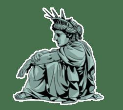 Unrestrained Goddess sticker #12535258