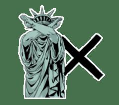 Unrestrained Goddess sticker #12535260