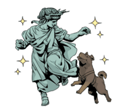 Unrestrained Goddess sticker #12535263