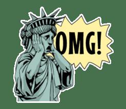 Unrestrained Goddess sticker #12535267