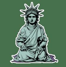 Unrestrained Goddess sticker #12535268