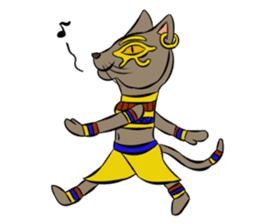 Ancient Egypt Gods & Goddesses sticker #12536878