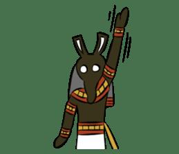 Ancient Egypt Gods & Goddesses sticker #12536896
