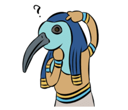 Ancient Egypt Gods & Goddesses sticker #12536914