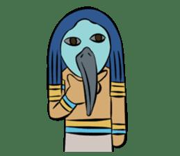 Ancient Egypt Gods & Goddesses sticker #12536915