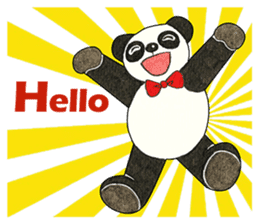 Cute Panda Museum 2 (English Version) sticker #12536918