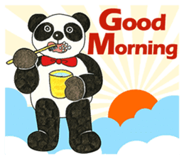 Cute Panda Museum 2 (English Version) sticker #12536919