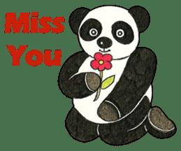 Cute Panda Museum 2 (English Version) sticker #12536920
