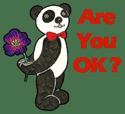 Cute Panda Museum 2 (English Version) sticker #12536921