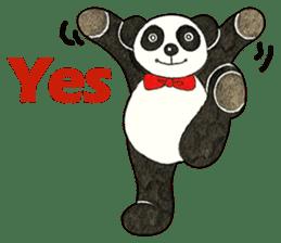 Cute Panda Museum 2 (English Version) sticker #12536922