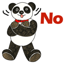 Cute Panda Museum 2 (English Version) sticker #12536923