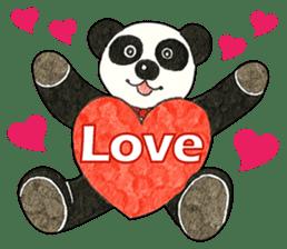 Cute Panda Museum 2 (English Version) sticker #12536924