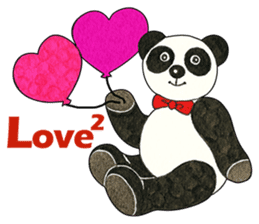 Cute Panda Museum 2 (English Version) sticker #12536925