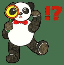 Cute Panda Museum 2 (English Version) sticker #12536927