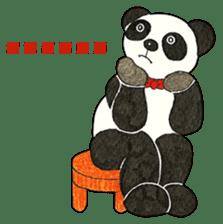 Cute Panda Museum 2 (English Version) sticker #12536928