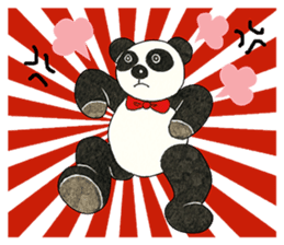 Cute Panda Museum 2 (English Version) sticker #12536931