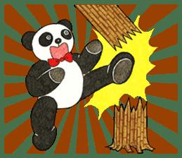 Cute Panda Museum 2 (English Version) sticker #12536932