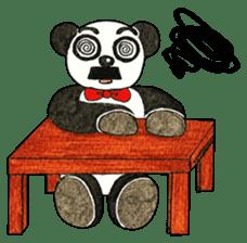 Cute Panda Museum 2 (English Version) sticker #12536934