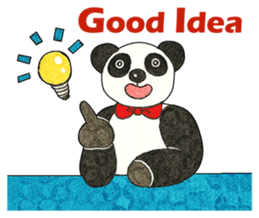 Cute Panda Museum 2 (English Version) sticker #12536935