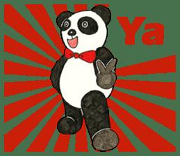 Cute Panda Museum 2 (English Version) sticker #12536936