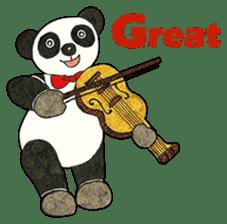 Cute Panda Museum 2 (English Version) sticker #12536938